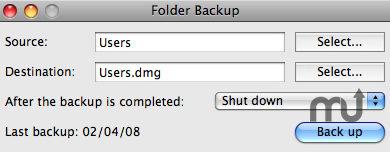 Folder Backup 6.1 de AlphaOmega Software