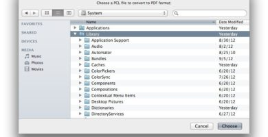 MacPCLtoPDF 1.3.25 de Edward Mendelson