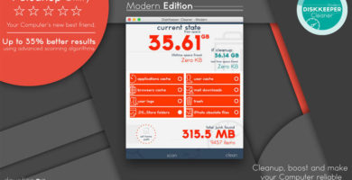 DiskKeeper: Cleaner - Modern 1.0.9 de Yuriy Georgiev
