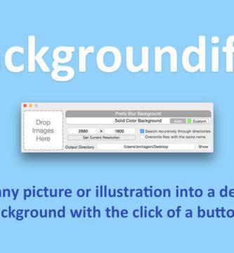 Backgroundifier 1.0.5 de Alexei Baboulevitch
