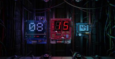 Digital Clock 3D Download