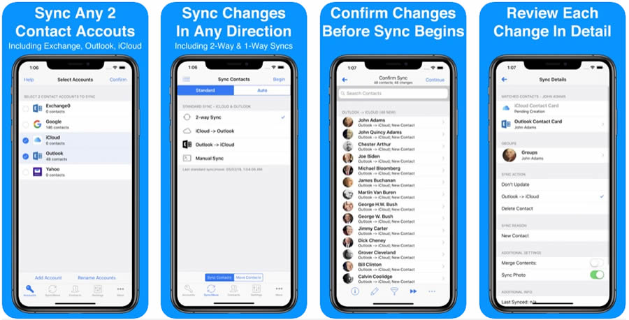 Contact Mover & Account Sync